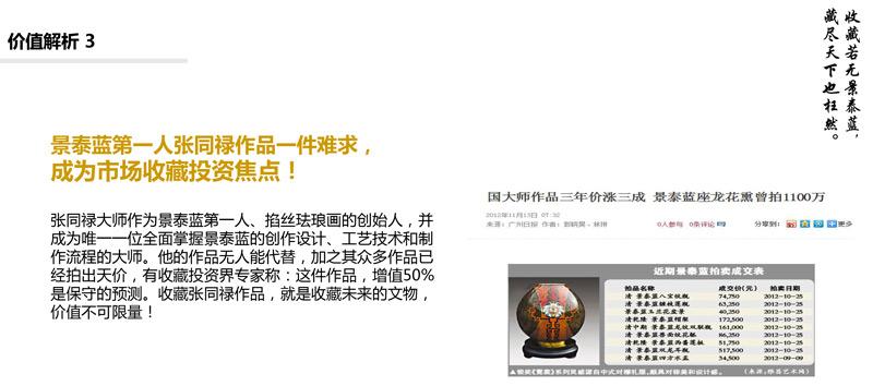 张同禄景泰蓝作品收藏投资焦点