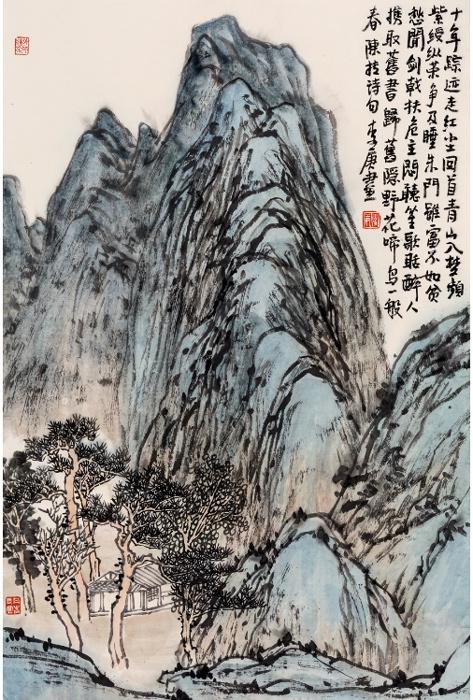 山水之三 scenery-03 46x69