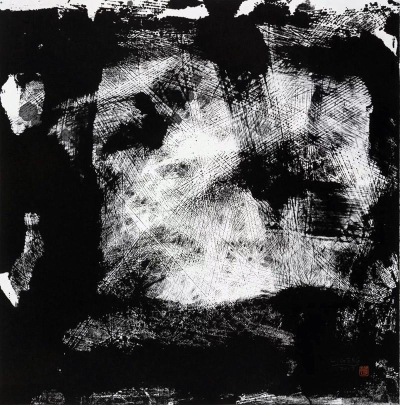 李庚马勒交响曲系列之一水墨书画作品