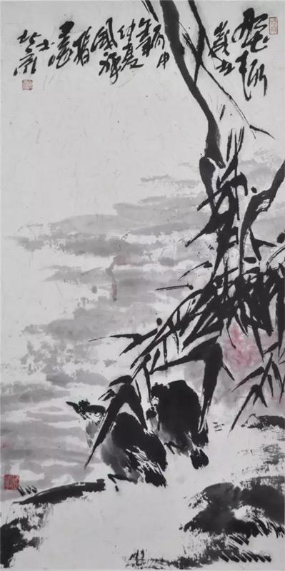 画家张国祥国画作品野趣