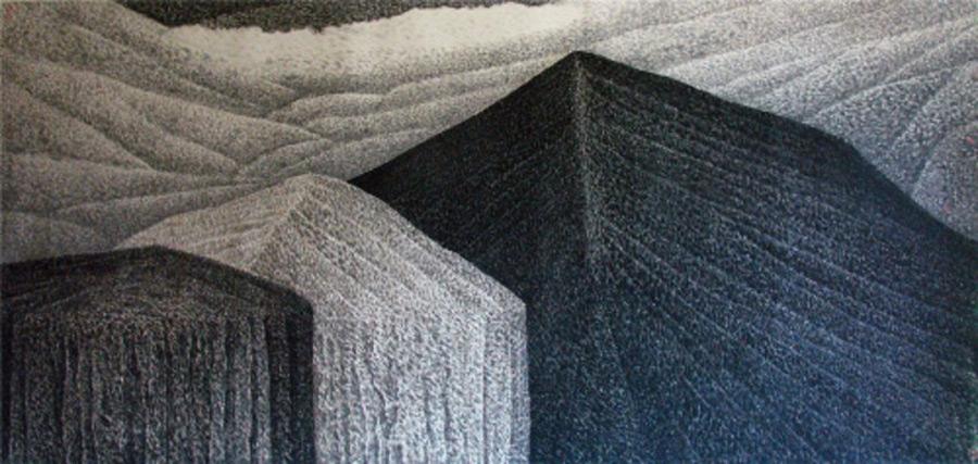 画家邱汉桥国画作品苍穹回响
