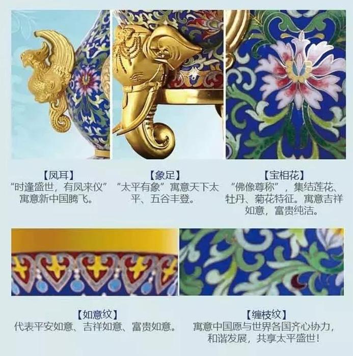 《吉祥中国·福禄尊》纹饰