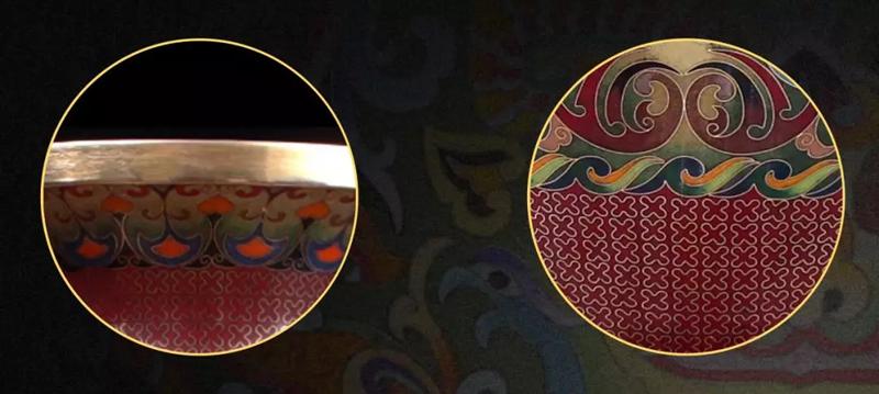 凤羽纹与江海纹