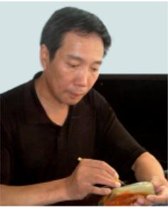 奥林匹克传承徽宝青白玉珍藏版创作者沈建元