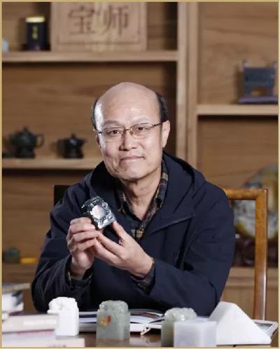 嫦娥五号探月宝玺创作作者郭鸣