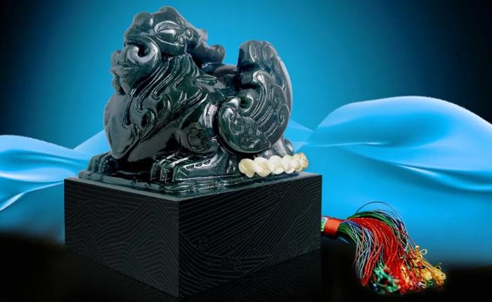 北京冬奥徽宝纪念版青玉